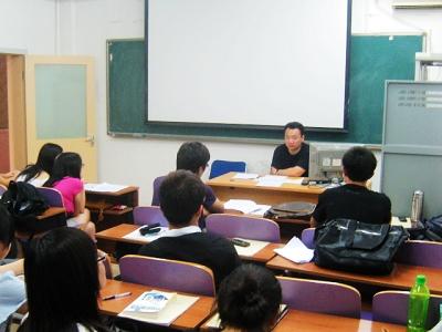与播音班召开 职业生涯规划 主题班会